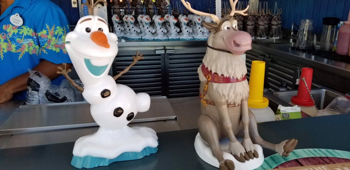 Enjoy a Cold Beverage with Olaf or Sven at Disney's Castaway Cay