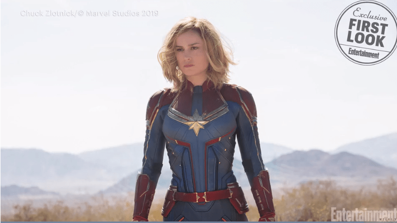 VIDEO: Our First Look at Brie Larson as 'Captain Marvel'