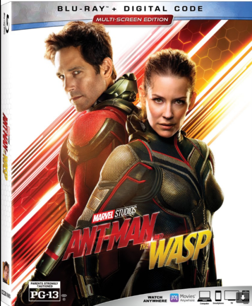 Disney's ANT-MAN AND THE WASP Releases on DVD and Digital