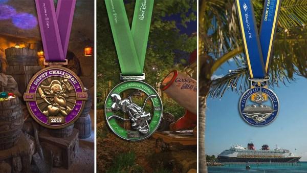 First Look at Medals for 2019 runDisney Walt Disney World Marathon Weekend 3