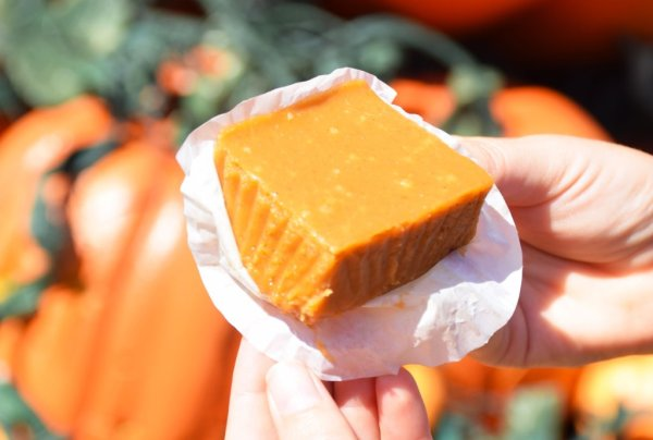 Candy Palace Is Now Serving Up Fresh Pumpkin Fudge 1