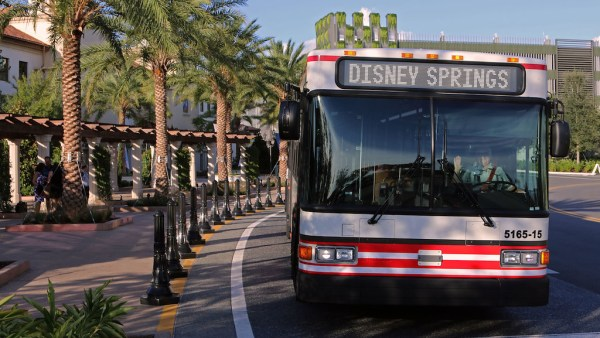 Drop Off Time for Disney Springs Buses Has Changed