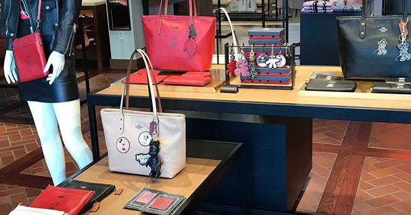 New Minnie Mouse Coach Collection
