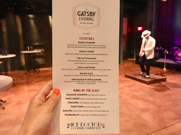 Review: A Gatsby Evening at The Edison - Disney Springs 5