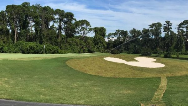 New Mickey-Shaped Sand Bunkers Added To Walt Disney World Golf Courses