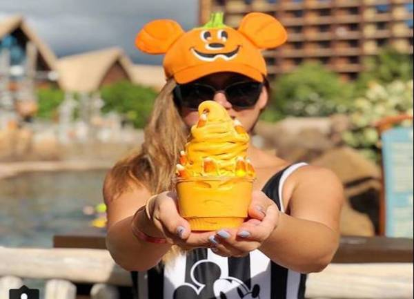 Pumpkin Soft Serve now at Aulani