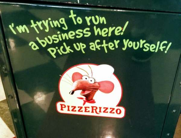 PizzeRizzo Now Closed - Reopen is Unsure