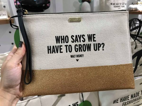Kate Spade Disney Quote Handbags Are A Touch Of Magic 2