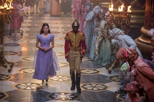 HE NUTCRACKER AND THE FOUR REALMS