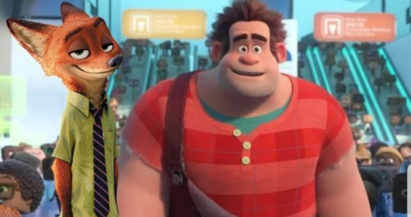 Nick Wilde Joins Wreck It Ralph In A New Trailer