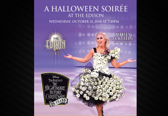 Actress Ashley Eckstein to Judge Costume Contest at The Edison's Halloween Soiree!