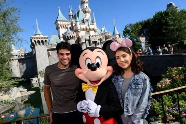'Dancing With the Stars' Contestants Visit Disneyland Resort