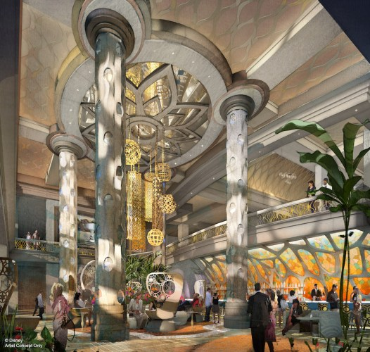 Artist Renderings of the New 15-Story Tower at Disney's Coronado Springs Resort