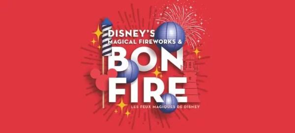 Magical Fireworks and Bonfire at Disneyland Paris