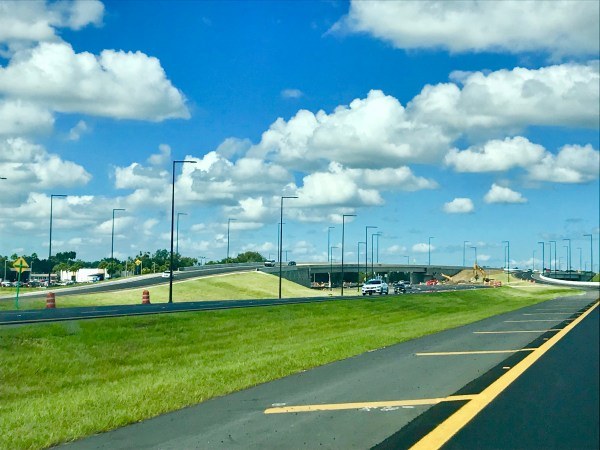 Southbound World Drive Overpass Opens