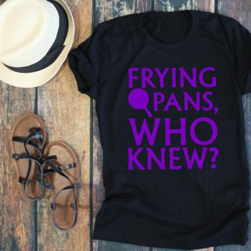 This Rapunzel Frying Pans Inspired Tee Is Hilarious 1