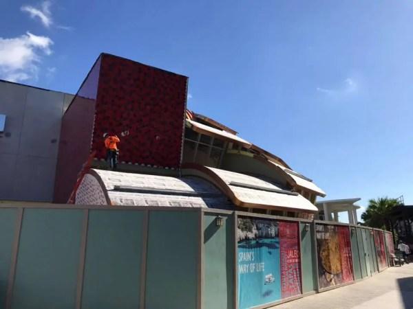 Jaleo at Disney Springs Construction Update