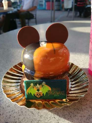 The Trolley Car Cafe Is In The Halloween Spirit