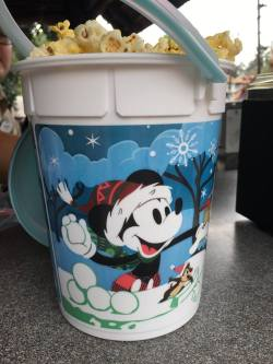 Holiday Souvenir Popcorn Buckets At The Disney Parks 1