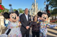 Good Morning America Live at Walt Disney World for Mickey's 90th Celebration