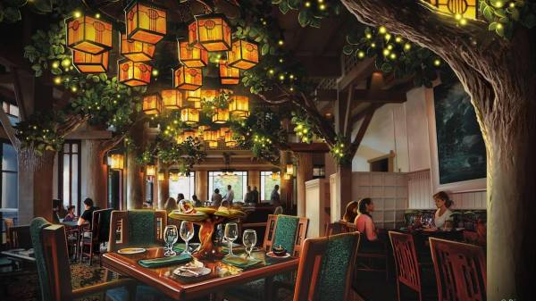 Storybook Dining at Artist Point Concept Art 1