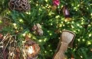 Holiday Decorations At Disney's Animal Kingdom Lodge