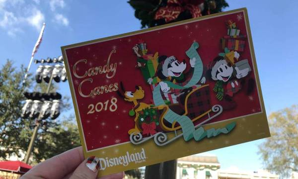 So Sweet: Hand-Pulled Candy Canes Now On Sale At Disneyland Resort
