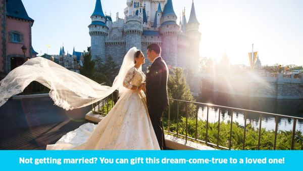 Win a Disney Wedding or Vow Renewal and Honeymoon from Omaze