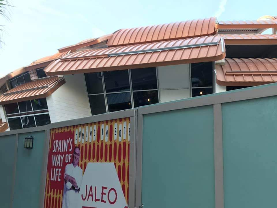 Jaleo at Disney Springs Finally Has its Roof on Top!