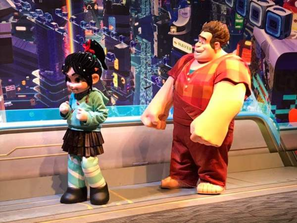 Ralph and Vanellope Now Meeting at Epcot 2
