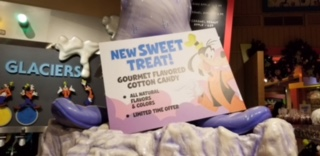 New Gourmet Cotton Candy At Disney Springs