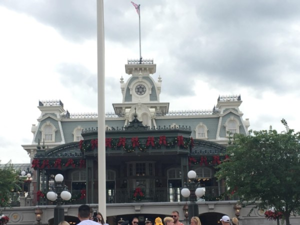 Magic Kingdom Holiday Decor 1