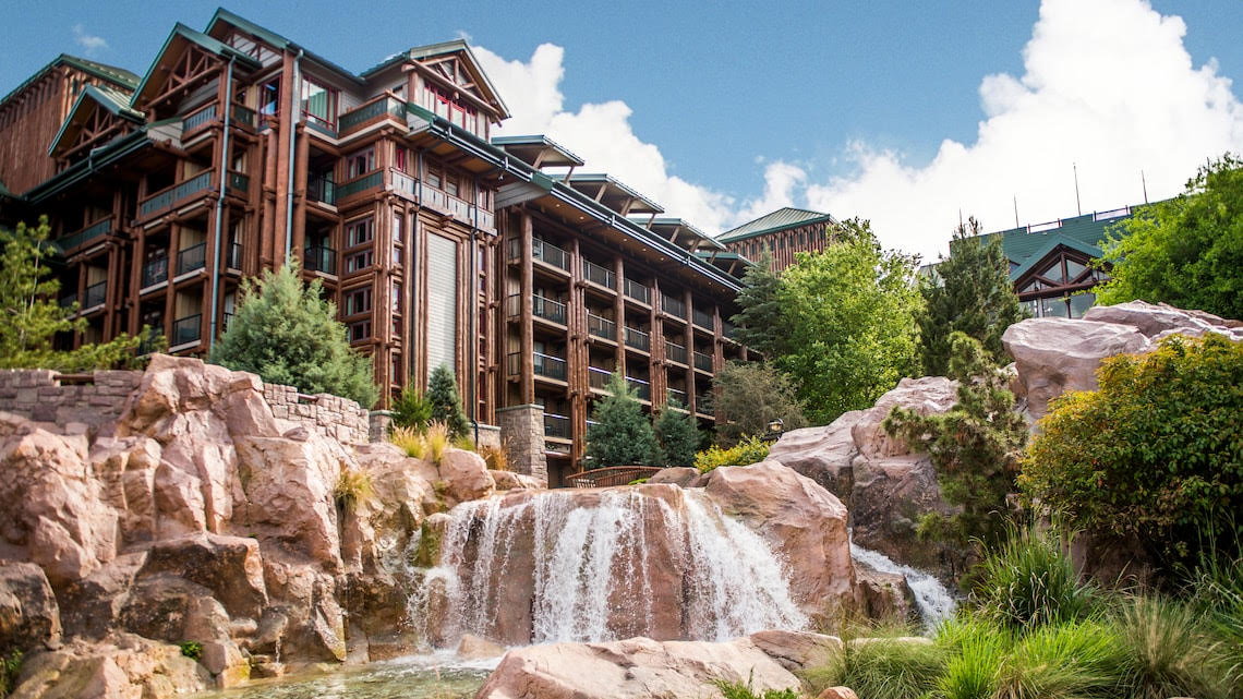 Disney files permit for Wilderness Lodge Construction