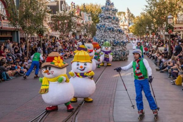 Snow In Southern California: Winter Is Here At Disneyland Resort