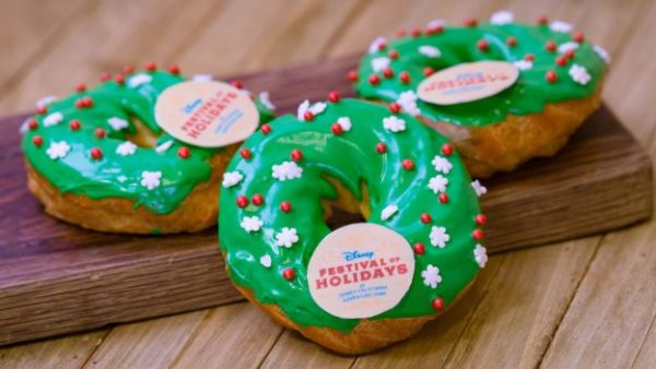 2018 Disney Festival of Holidays at California Adventure Park Foodie Guide 1