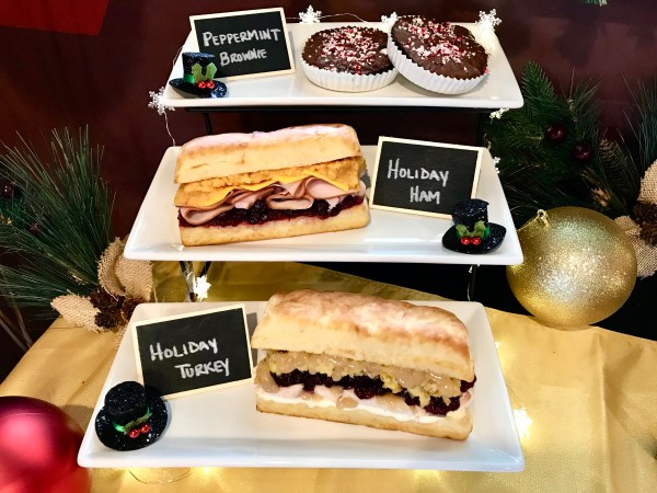Earl of Sandwich Holiday Eats Preview