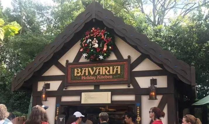 Fröhliche Weihnachten From The Bavarian Holiday Kitchen At Epcot