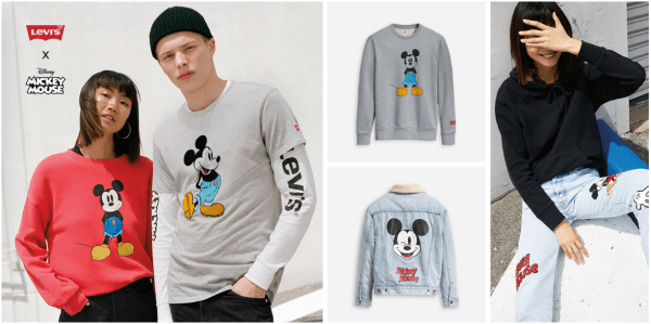 fe44af32a Levi s x Disney Mickey Mouse Collection Now Available