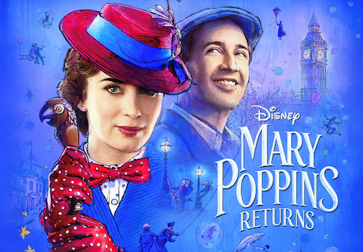 Practically Perfect Opportunity For Advanced Viewing of Disney's Mary Poppins Returns