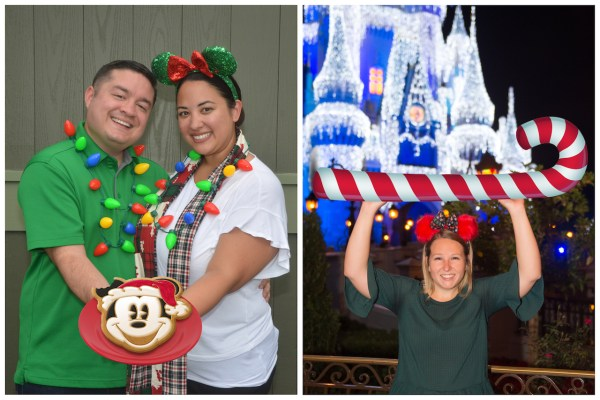 Festive PhotoPass Magic Shots and More During Mickey's Very Merry Christmas Party