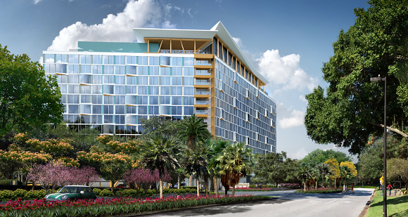 Construction Begins On Sister Hotel To Swan and Dolphin