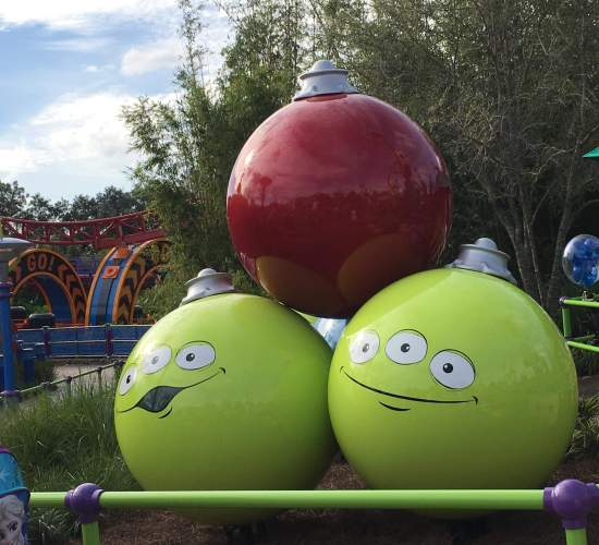 Toy Story Land Christmas