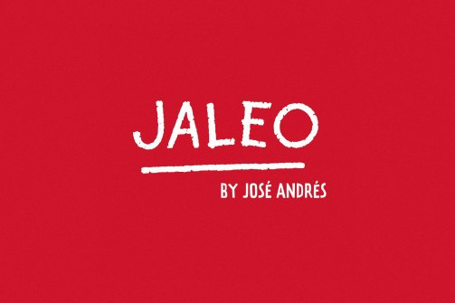 New Jaleo Menu