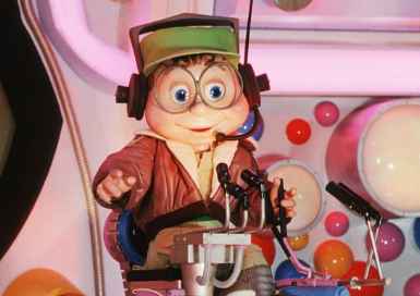 Twitter is a Buzzy over stolen Cranium Command Character from Wonders of Life Attraction in Epcot