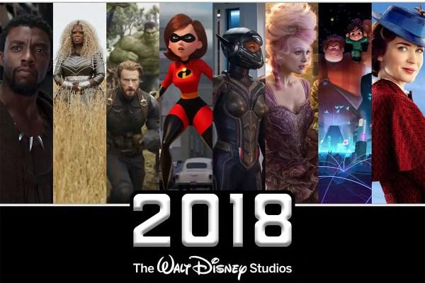 Walt Disney Studios Surpass $7 Billion in Box Office Sales for 2018 1