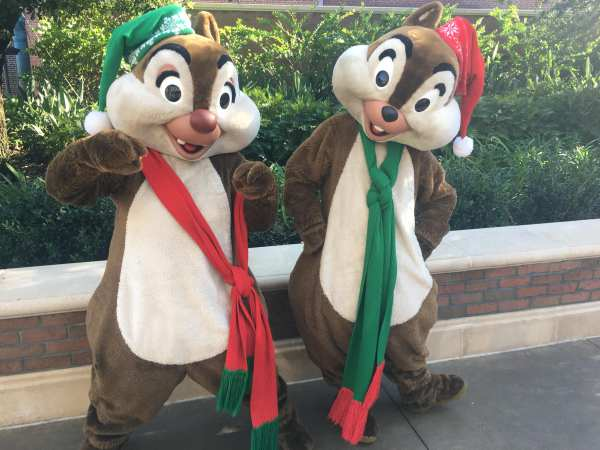 Chip and Dale Mickey's Very Merry Christmas Party