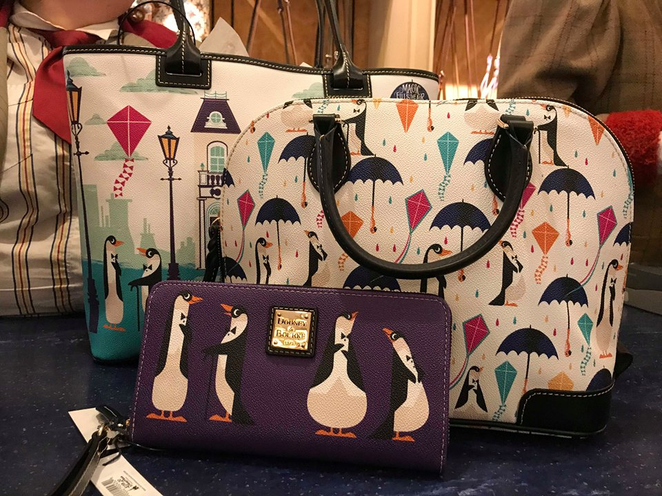 The New Mary Poppins Dooney and Bourke Bags are A Jolly Holiday