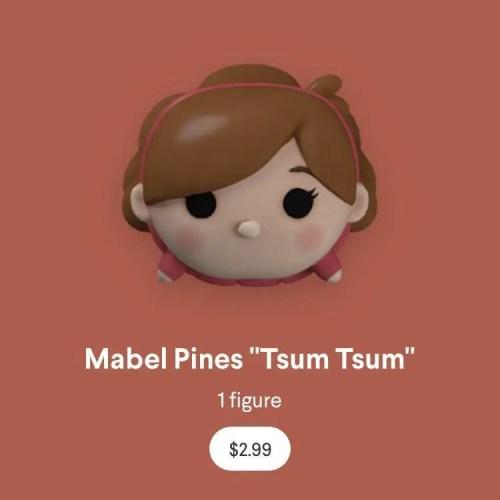 New Virtual Gravity Falls Tsum Tsum On Quidd App 2