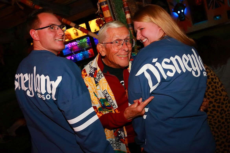 Disney Legend Bob Gurr Received an Honorary Shrunken Head at The Golden Tiki in Las Vegas