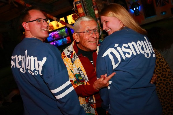 Disney Legend Bob Gurr Received an Honorary Shrunken Head at The Golden Tiki in Las Vegas 1